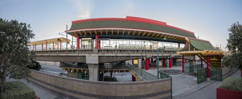 Chinatown stacja metru w Chinatown fotografia royalty free