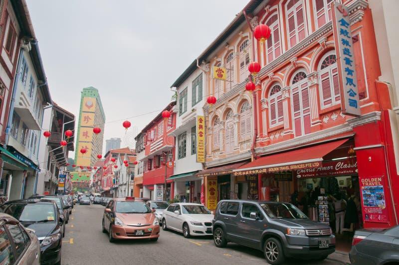 Chinatown-Straße lizenzfreie stockfotos