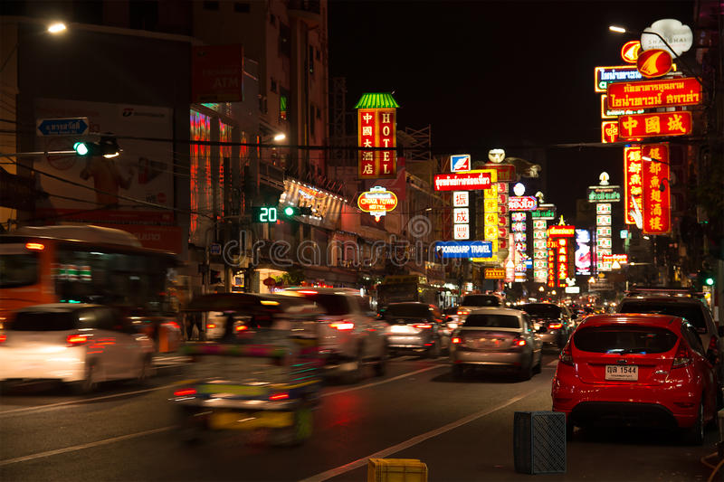 Chinatown in Thailand royalty free stock images