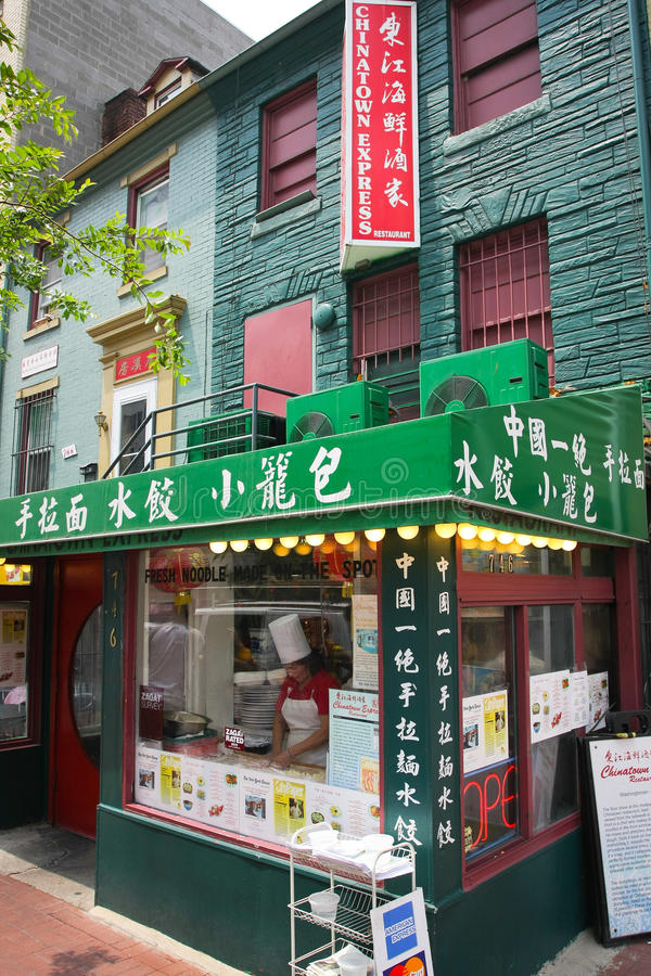 CHINATOWN IN WASHINGTON, D.C. Editorial Image