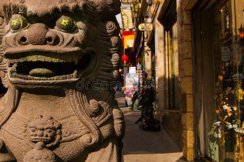 chinatown wejścia fotografia royalty free