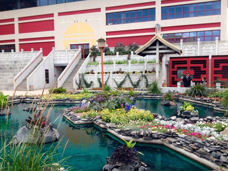 Chinatown Winnipeg royalty-vrije stock foto