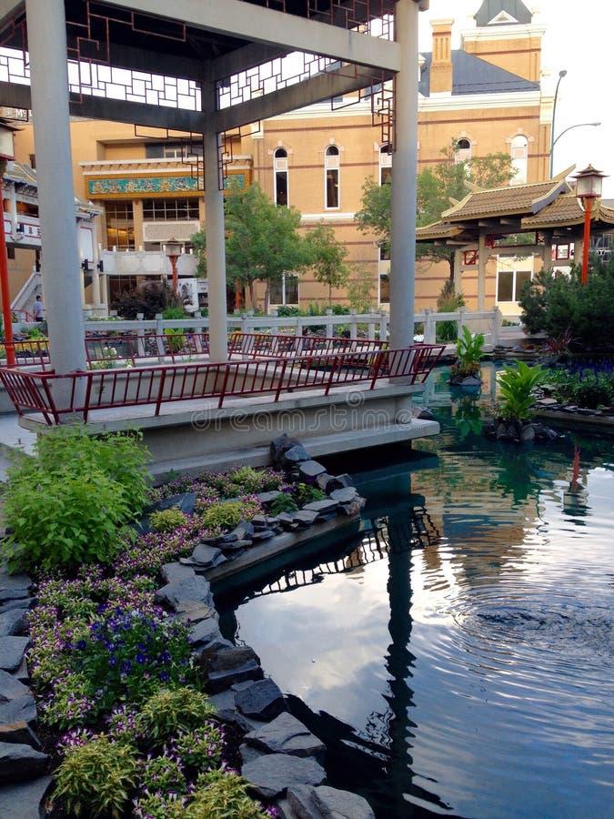 Chinatown Winnipeg stock afbeelding