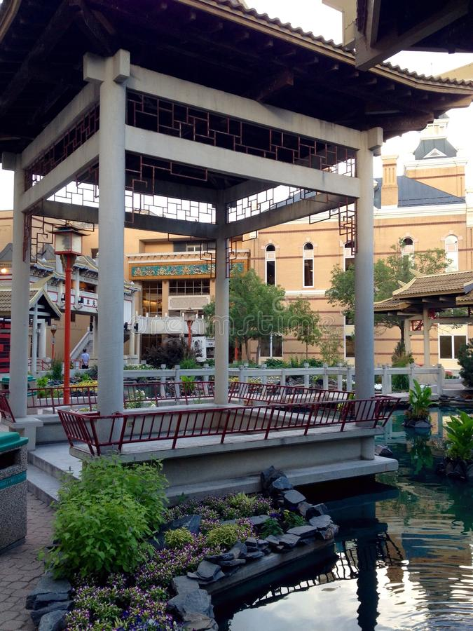 Chinatown Winnipeg stock fotografie