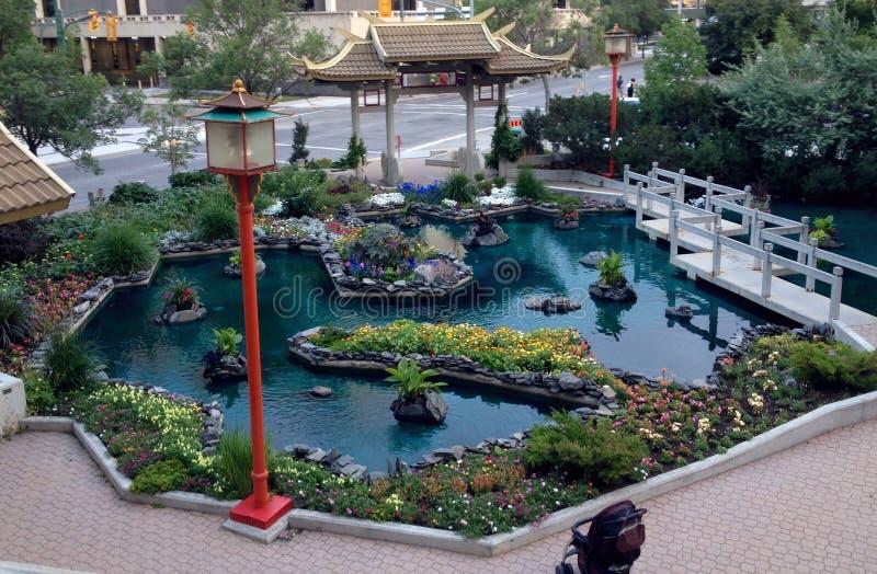 Chinatown Winnipeg stock afbeeldingen