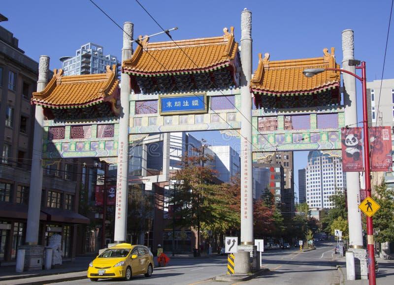Chinatownpoorten stock fotografie