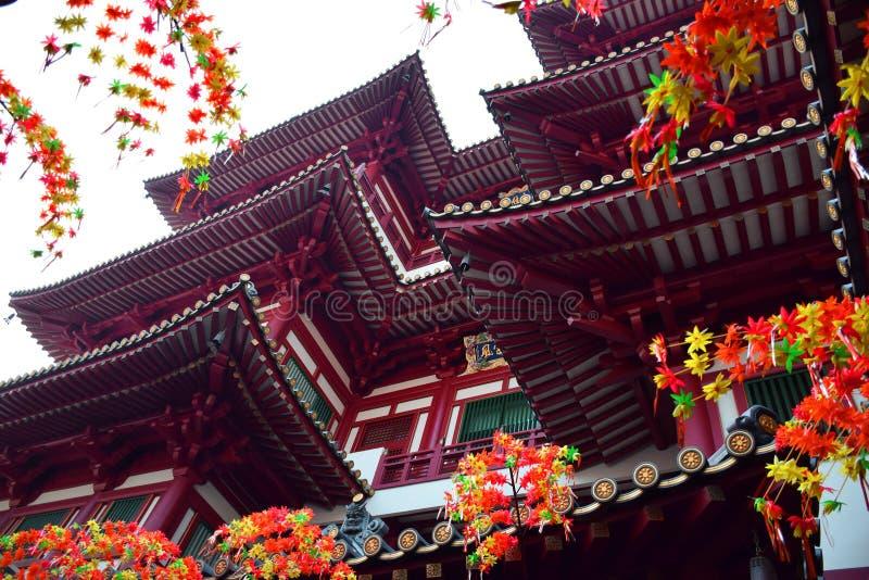 Chinatownsg royalty-vrije stock afbeelding