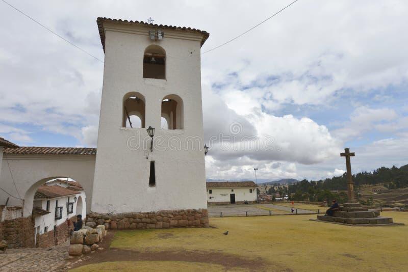 Chinchero, Cuzco, Perú foto de archivo