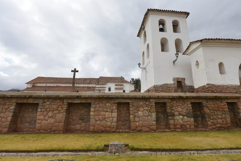 Chinchero Cuzco, Peru arkivfoton