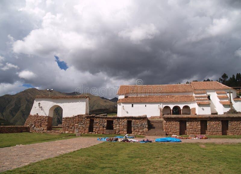 Chinchero, Perù fotografia stock libera da diritti