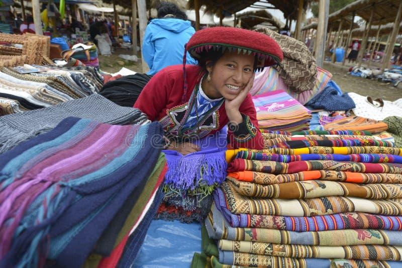 Chinchero, Perù immagine stock libera da diritti