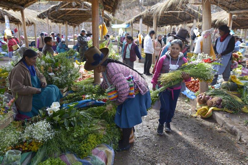 Chinchero, Perú imagenes de archivo