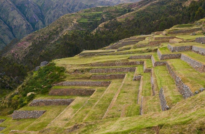 Chinchero, Peru foto de stock