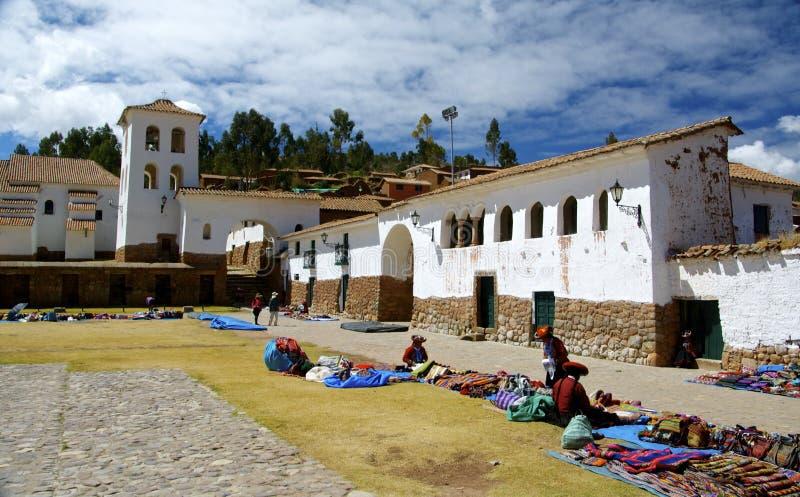 Chinchero Peru arkivfoton