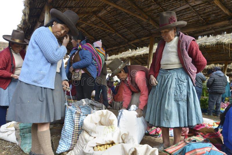 Chinchero, Peru imagens de stock royalty free