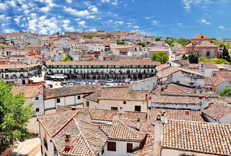 Chinchon Spanien arkivfoton