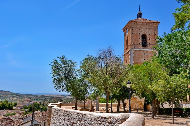 Chinchon Spanien royaltyfri foto