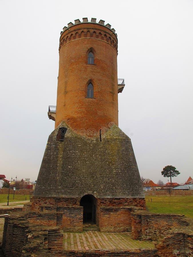 Chindia Tower In Targoviste, Romania Stock Photo - Image ...
