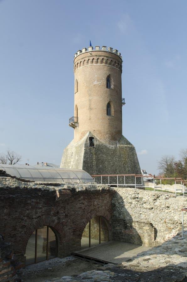 Chindia Tower (Turnul Chindiei) stock photos