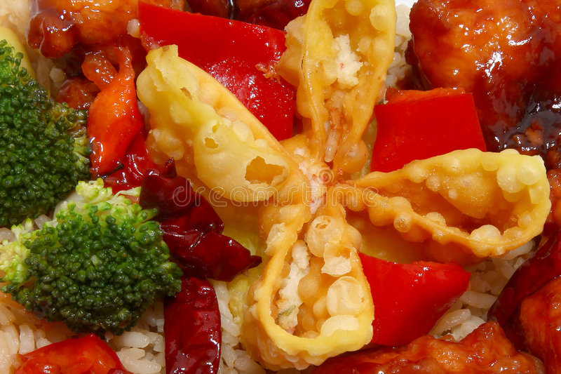 Chinees Diner royalty-vrije stock afbeeldingen