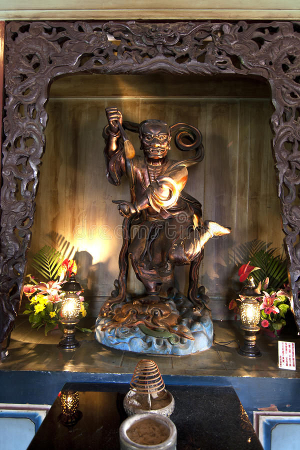 Chinees Heiligdom Royalty-vrije Stock Afbeelding
