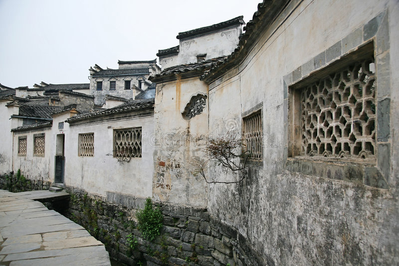 Chinees huis royalty-vrije stock foto