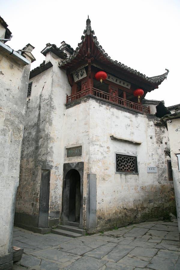 Chinees huis stock foto