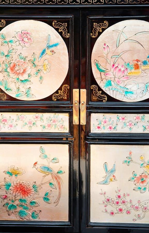 Chinees kabinet royalty-vrije stock afbeeldingen
