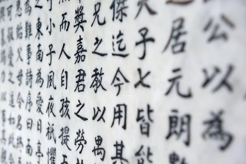 Chinees karakterachtergrond royalty-vrije stock fotografie