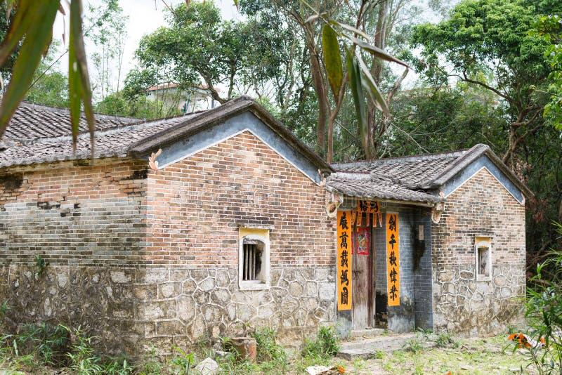 Chinees landelijk huis royalty-vrije stock afbeeldingen