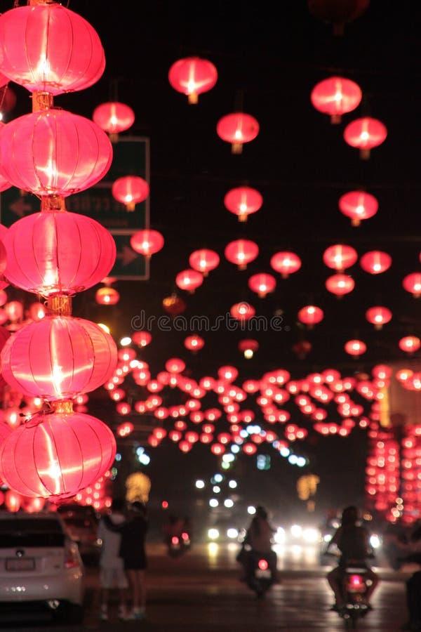 Chinees lantaarnsfestival stock fotografie