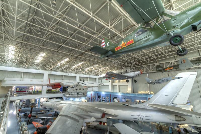 Chinees luchtvaartmuseum stock afbeelding