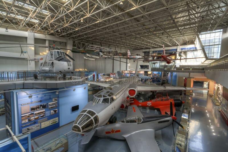 Chinees luchtvaartmuseum royalty-vrije stock fotografie