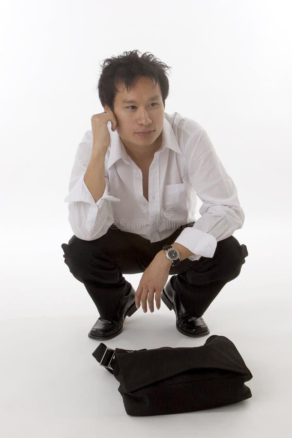 Chinees mannetje royalty-vrije stock afbeeldingen