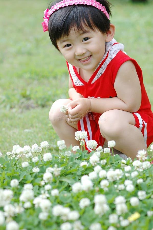 Chinees meisje stock foto