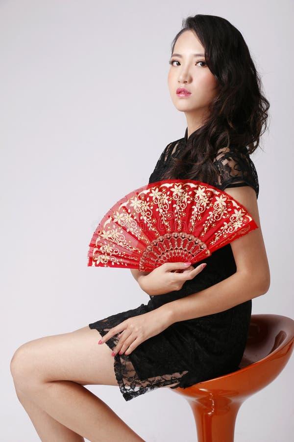 Chinees meisje royalty-vrije stock foto