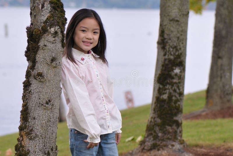 Chinees Meisje royalty-vrije stock afbeelding