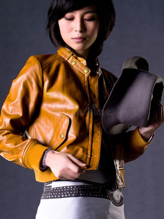 Chinees meisje stock fotografie