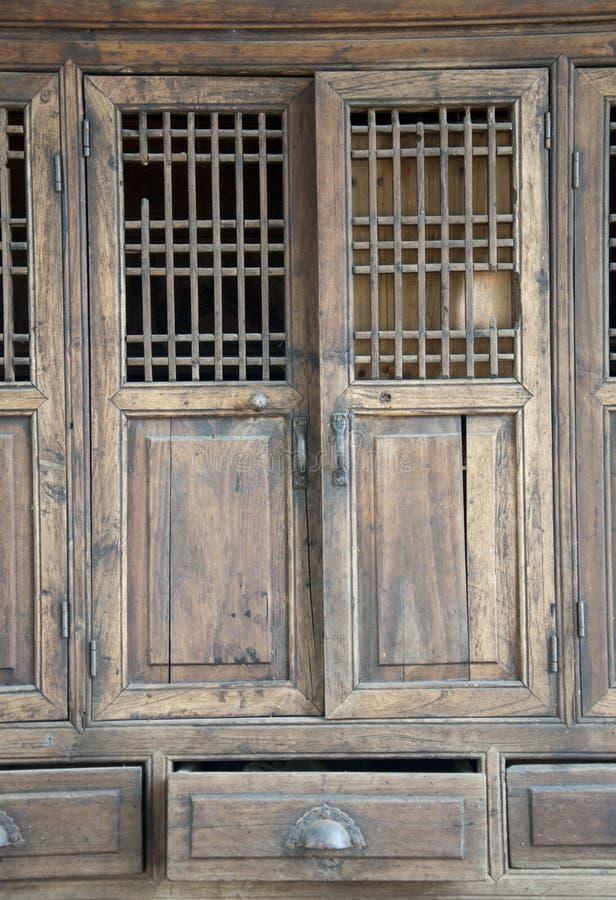Chinees meubilair stock foto