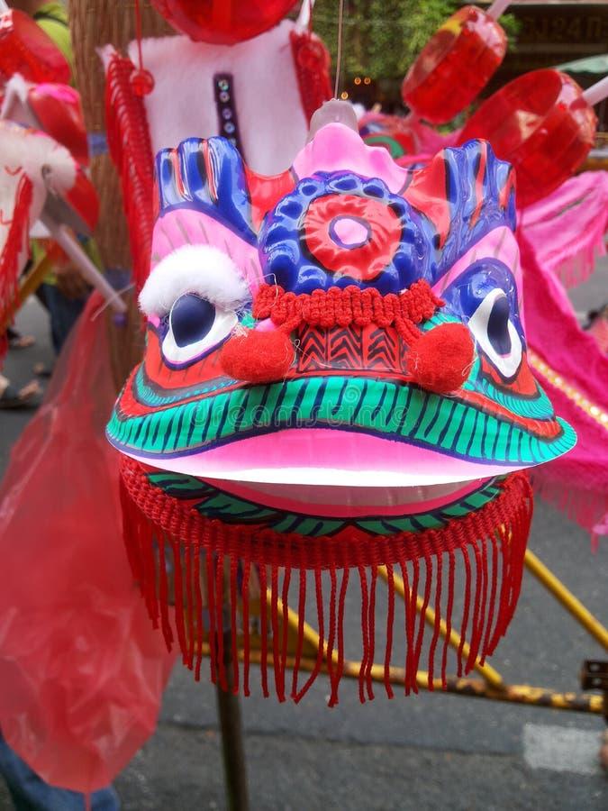 Chinees nieuw jaar in de stad van China in Thailand royalty-vrije stock afbeelding