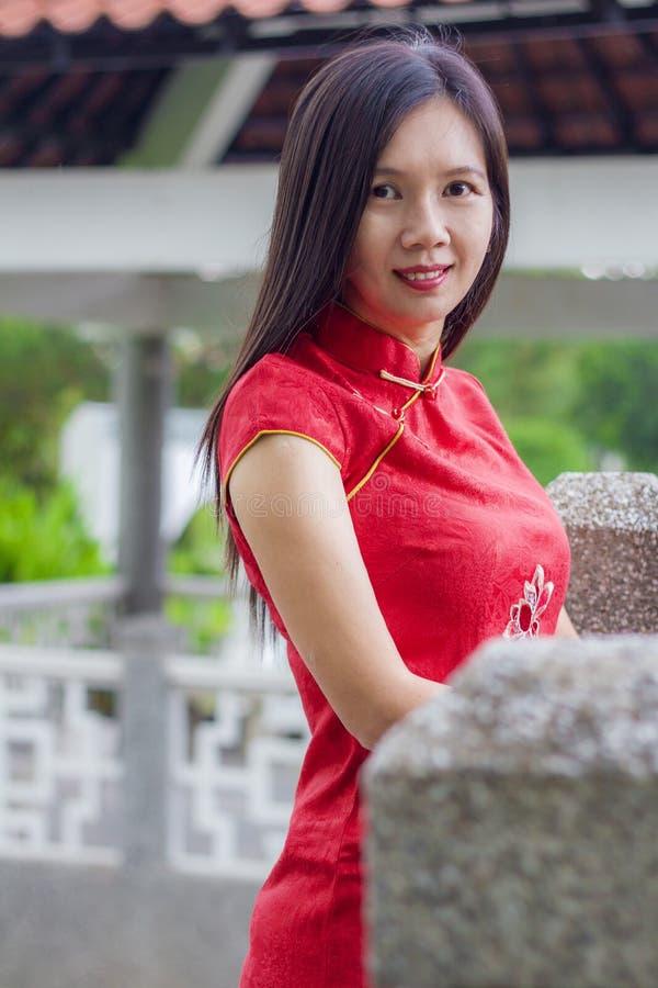 Chinees Nieuwjaar Cheong SAM stock foto's