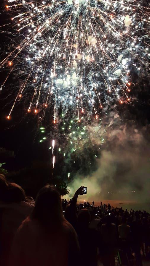 Chinees Nieuwjaar in Uruguay stock foto's