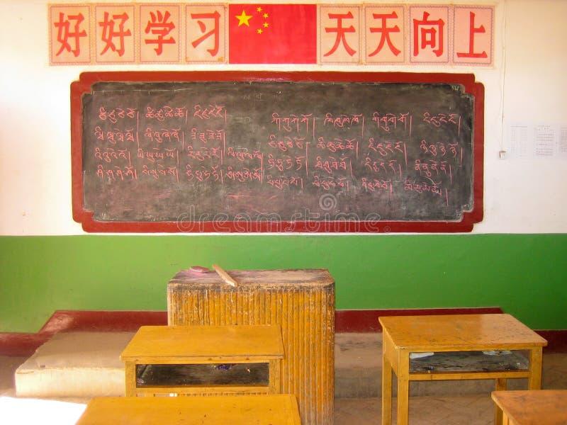 Chinees onderwijs stock afbeeldingen