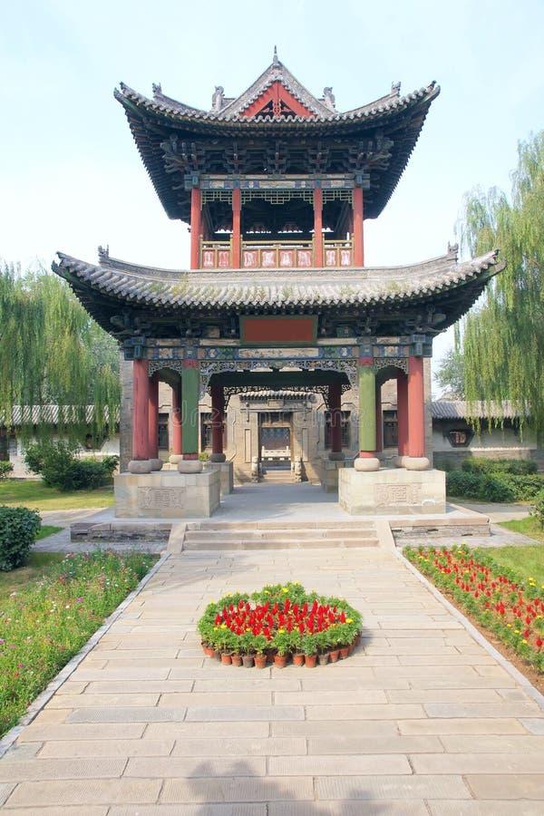 Chinees paviljoen stock foto's