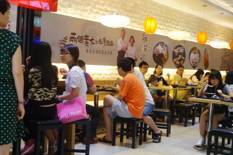 Chinees restaurant stock fotografie