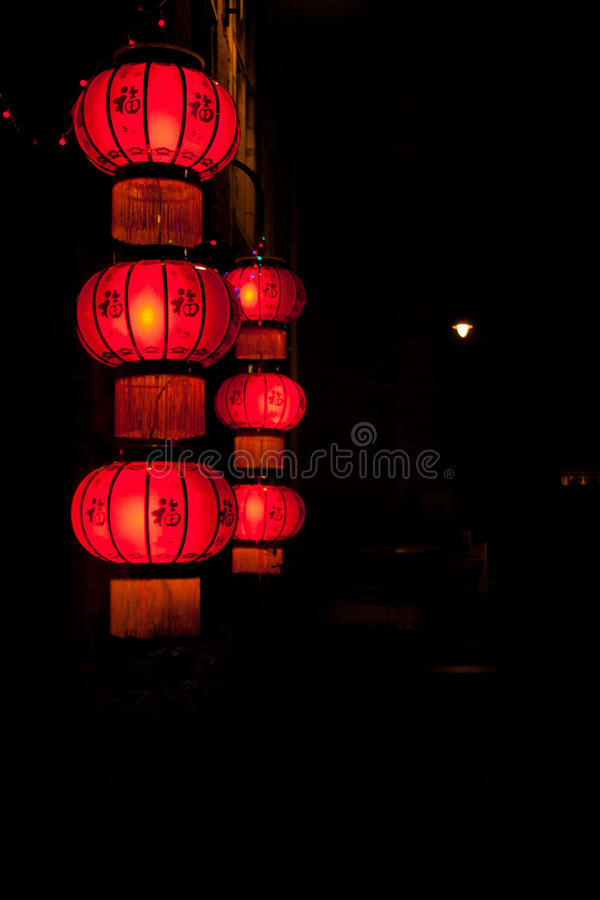 Chinees restaurant stock foto