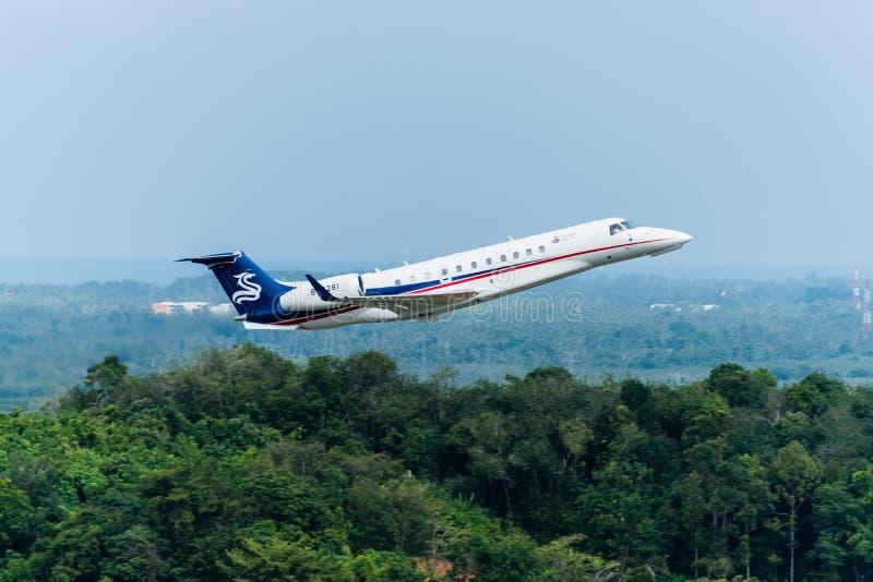 Chinees straalsportvliegtuigstart royalty-vrije stock foto