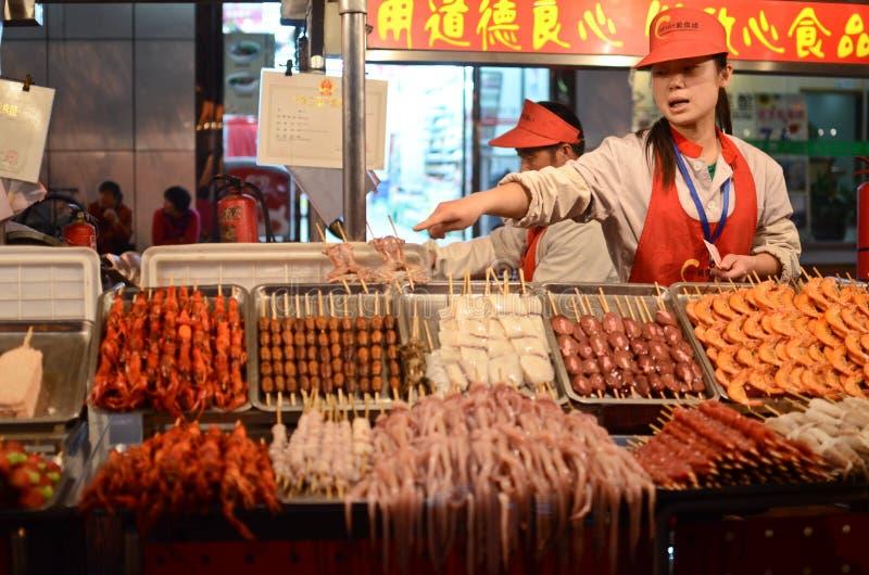 Chinees Straatvoedsel stock afbeeldingen