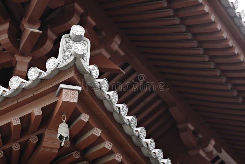 Chinees tempeldak royalty-vrije stock afbeeldingen