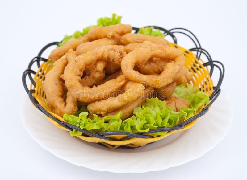 Chinees voedsel - calamari stock fotografie